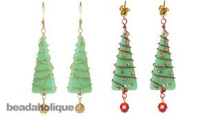 how to make a christmas tree by wire wrapping sea glass youtube