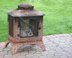 Portable Indoor Outdoor Fireplace by Portable Outdoor Fireplace Design Idea Small Patio Portable