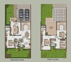 row houses floor plans india