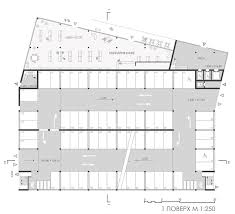 Public Building Floor Plans Multifunctional Building Technopark Competition Entry On Behance