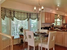 Kitchen Window Curtain Ideas by Window Treatments For Bay Windows Kitchen Window Curtain Ideas