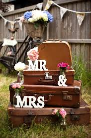 vintage wedding weddings vintage suitcases 2061264 weddbook