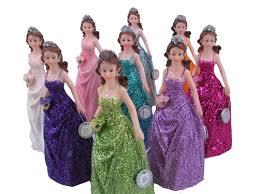 quinceanera dolls quinceanera de poli resina con brillo 12