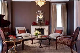 brown livingroom traditional living room rooms with brown walls stylish living