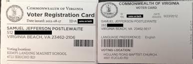 voter registration cards 141 plus