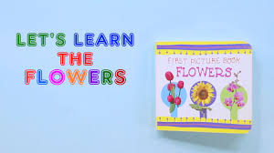 All About Flowers - all about flowers for kids flowers learning book for kids