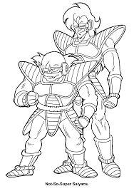coloring page dragon ball z coloring pages 54