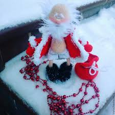 Santa Claus Dolls Handmade - santa claus with a twinkle crochet santa claus shop