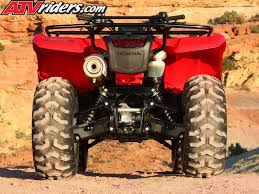 2009 honda rancher 420 at u0026 es utility atv test ride review