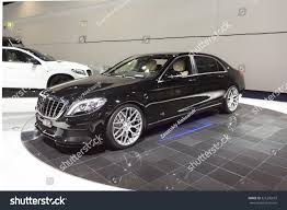 mercedes maybach 2015 frankfurt deutschland september 15 2015 2015 stock photo 321236633
