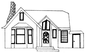 house drawings line drawings baya clare artist