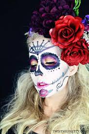 sugar skull makeup tutorial for beginners october 12 2016