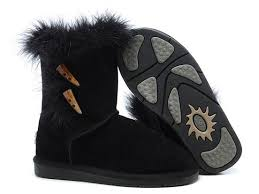 ugg boots sale on cyber monday ugg boots cyber monday fox fur 5685 black for ugg 0171