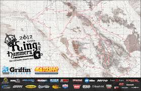 Rubicon Trail Map 2012 Griffin King Of The Hammers Map Ultra4 Racing