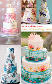 wedding cakes 2016 27 eye popping painted wedding cakes for 2016