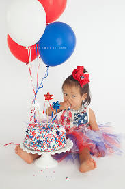birthday smash cake 4th of july birthday cake smash san gabriel valley smash cake