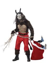 krampus the christmas demon costume men halloween costumes