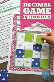 four freebie decimal games engage students with 4 in a row games