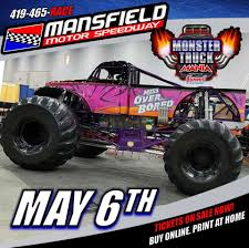 monster jam trucks for sale mansfield ohio mansfield motor speedway monster truck monster