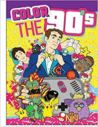 coloring books color the 90 s the ultimate