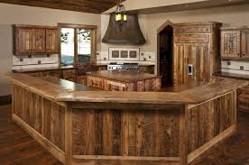 Wood Kitchen Cabinets Reclaimed Barnwood Kitchen Cabinets Barn Wood Furniture Rustic