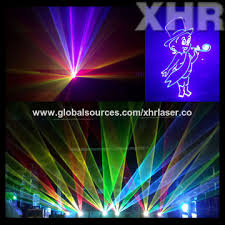 china xhr 8w color stage laser light professional outdoor