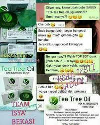 Sabun Tto msi tea tree sabun untuk kecantikan dari pt msi