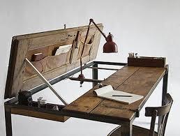 Metal Drafting Table 1935 Hamilton Adjustable Drafting Architect Or Artist Desk