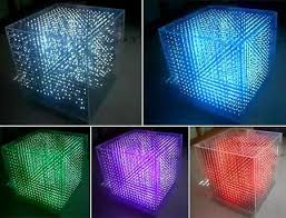 led cubes 3 d led cubes are out of this world not literally though they re