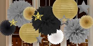 New Year Decoration Party by New Year U0027s Eve Decorations By Color Paper Decorations Party City
