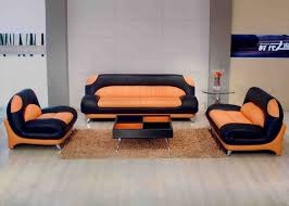 best 25 orange leather sofas ideas on pinterest orange sofa