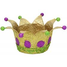 mardi gras crown mardi gras glitter crowns set of 2 mardigrasoutlet