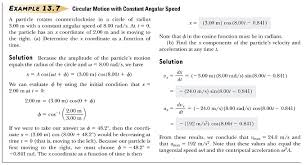 comparing simple harmonic motion and uniform circular motion