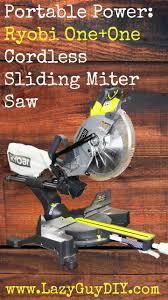 Cutting Laminate Flooring With Miter Saw Best 25 Ryobi Miter Saw Ideas On Pinterest Large Garage