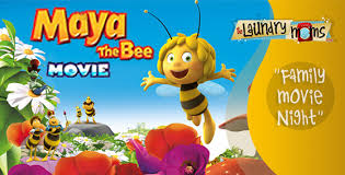 family movie night maya bee movie laundry moms