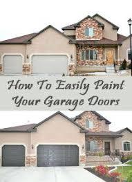 best 25 paint garage doors ideas on pinterest door colors painted