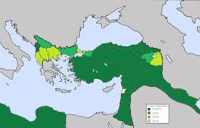 Provinces Of The Ottoman Empire File Muslim Population Ottoman Empire Vilayets Provinces 1906 1907