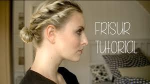 Frisuren Renaissance Anleitung by Frisur Tutorial Flechten Drehen
