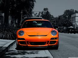 porsche 911 orange orange porsche 911 4k hd desktop wallpaper for 4k ultra hd tv