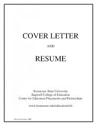 simple resume cover letter resume for your job application
