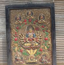 30 wood carving painting 18 maha cundi buddha wall