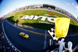Ford Racing Flag The 57th Annual Daytona 500 Ended With Green White Checker Under