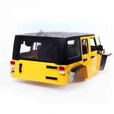 jeep yellow aliexpress com buy injora hard plastic 12 3inch 313mm wheelbase