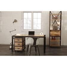 bureau miliboo miliboo bureau design industriel bois massif achat vente meuble