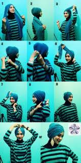 video tutorial turban style tutorial hijab paris turban style inspired by fatin shidqia