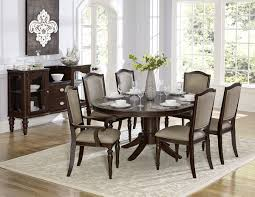homelegance 2615dc 72 oval espresso dining table set