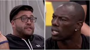 Challenge In Nose Out Terrell Owens Quit Mtv S The Challenge After Ct Called Him Out