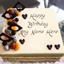 happy birthday cake for men simple birthday cakes for man image