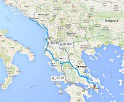 Map Of Italy And Croatia by My Blablacar Ridesharing Review Croatia To Greece