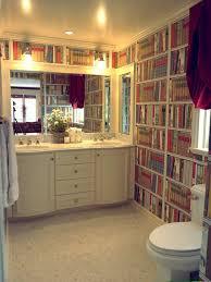 wallpaper that looks like bookshelves bookshelf wallpaper houzz